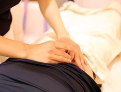 宮城野区腰痛治療風景